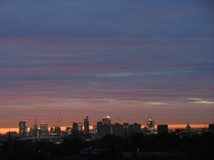 VIEW from Primrose Hill of London - photography by Raj Persaud