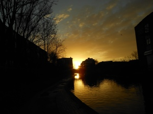 Photograph from Regents Canal - picture by Raj Persaud